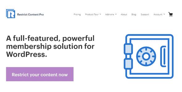 Restrict Content Pro – A Simple
