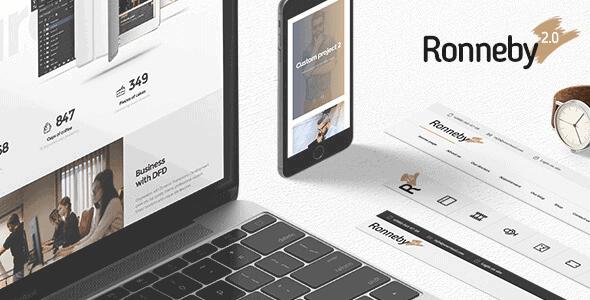 Ronneby – High-Performance Wordpress Theme