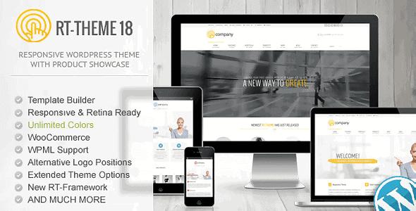 Rt-Theme 18 – Responsive Wordpress Theme