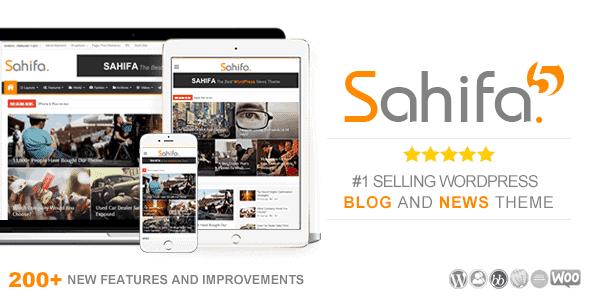 Sahifa – Responsive Wordpress News Magazine Newspaper Theme