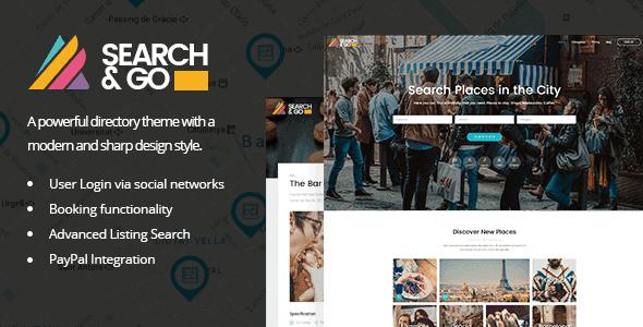 Search & Go – Modern & Smart Directory Theme