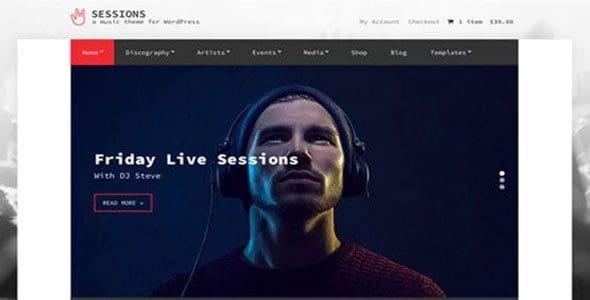 Cssigniter – Sessions Wordpress Theme