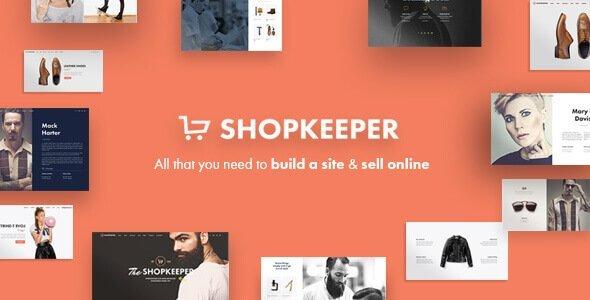 Shopkeeper – Responsive Wordpress Theme