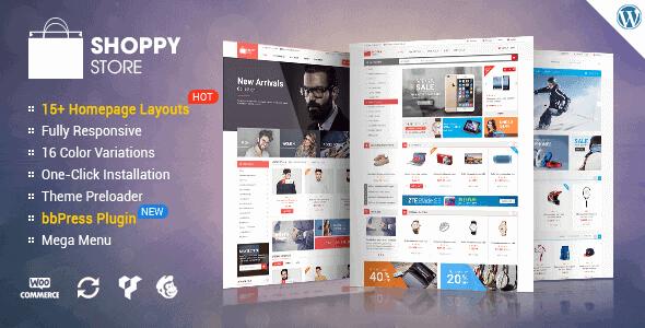 Shoppystore – Woocommerce Wordpress Theme