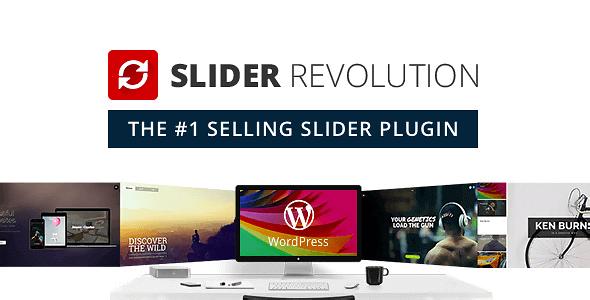 Slider Revolution – Responsive Wordpress Plugin