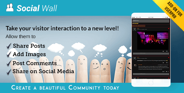 Userpro Social Wall Addon