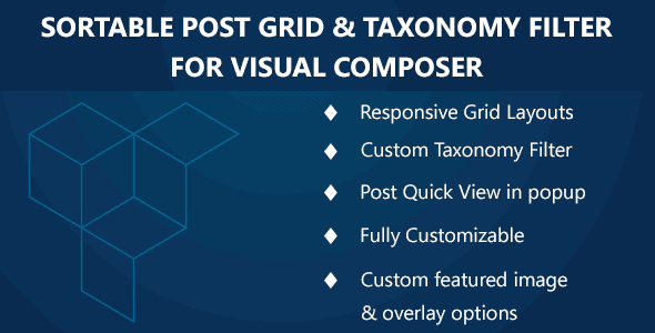 Sortable Grid & Taxonomy Filter