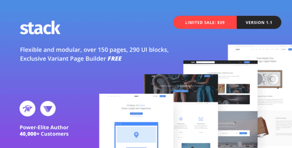 Stack – Multi-Purpose Wordpress Theme With Variant Page Builder & Visual Composer