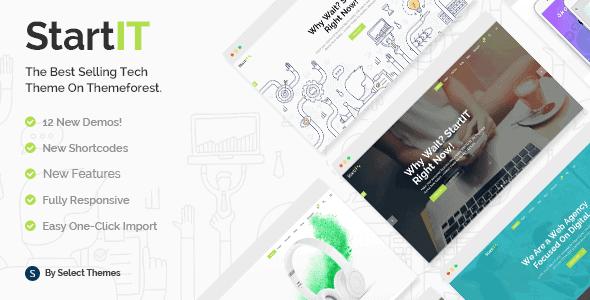 Startit – A Fresh Startup Business Theme