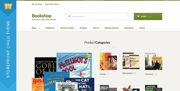 Storefront Bookshop