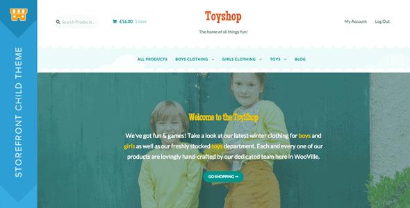 Storefront Toyshop
