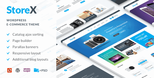 Storex – Wordpress Woocommerce Electronics Theme