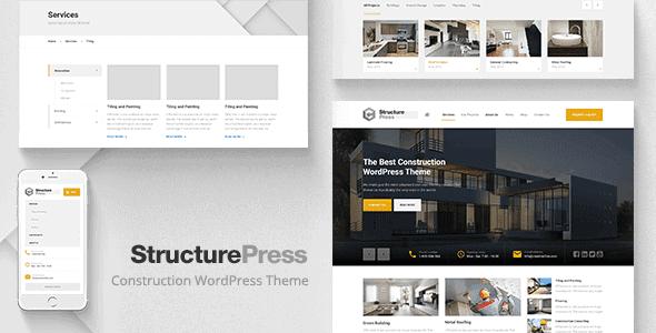 Structurepress – Construction Building Wp Theme
