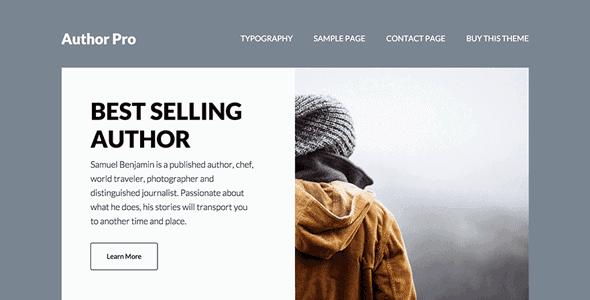 Studiopress Author Pro Theme