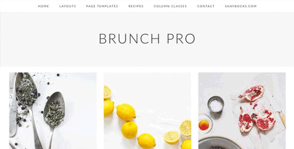 Studiopress Brunch Pro Theme