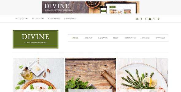 Studiopress Divine Theme