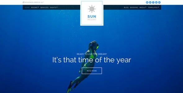 Cssigniter – Sun Resort Wordpress Theme