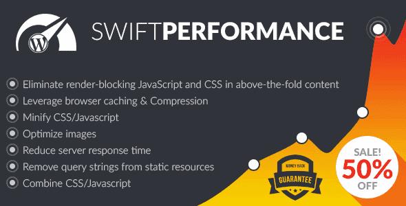 Swift Performance – Wordpress Cache & Performance Booster