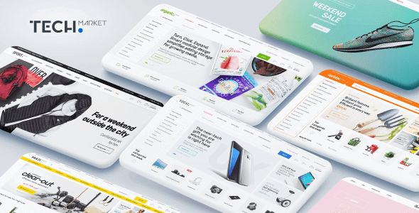 Techmarket – Multi-Demo & Electronics Store Woocommerce Theme
