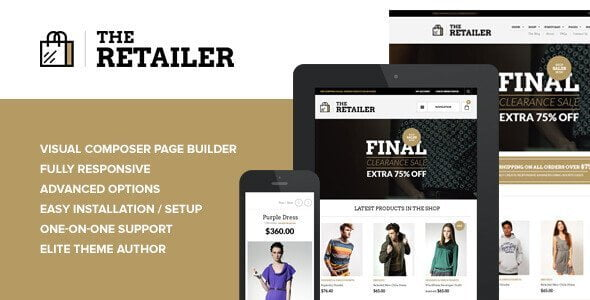 The Retailer – Responsive Wordpress Theme