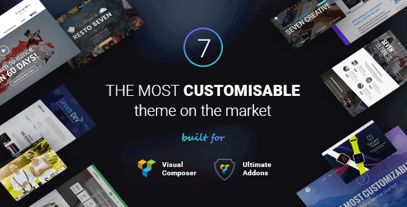 The7 – Responsive Multi-Purpose Wordpress Theme