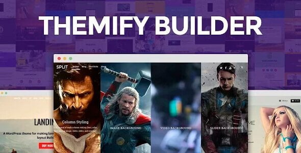 Themify Builder – Drag & Drop Page Builder For Wordpress