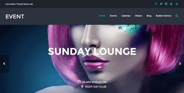 Themify Event – WordPress Theme