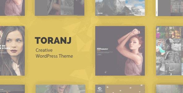 Toranj – Responsive Creative Wordpress Theme
