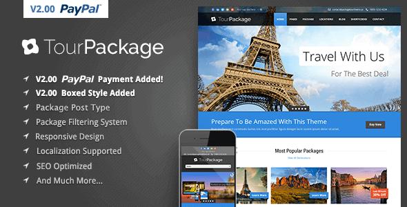 Tour Package 2.07 – Wordpress Travel Tour Theme