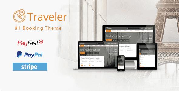 Traveler – Travel Tour Booking Wordpress Theme