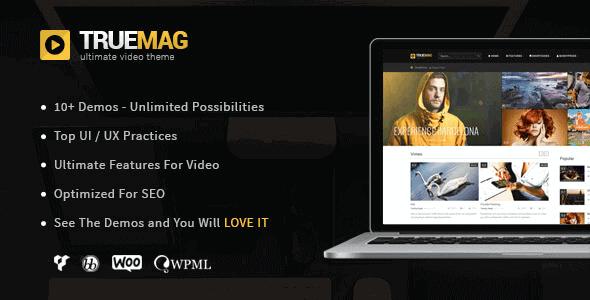 True Mag – Wordpress Theme For Video And Magazine