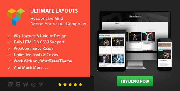 Ultimate Layouts – Responsive Grid Addon For Visual Composer