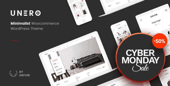 Unero – Minimalist Ajax Woocommerce Wordpress Theme