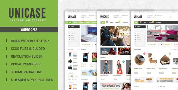 Unicase – Electronics Store Woocommerce Theme