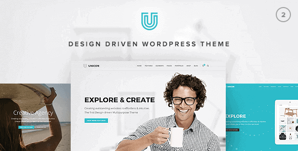 Unicon – Design-Driven Multipurpose Theme