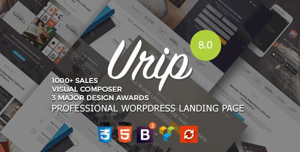 Urip – Professional Wordpress Landing Page
