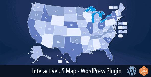 Interactive Us Map – Wordpress Plugin