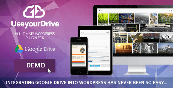 Use-Your-Drive – Google Drive Plugin For Wordpress