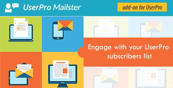 Userpro Mailster Addon