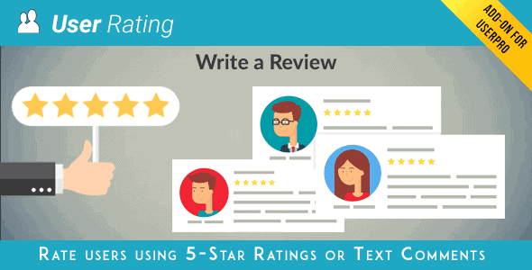 Userpro User Rating Review Add-On