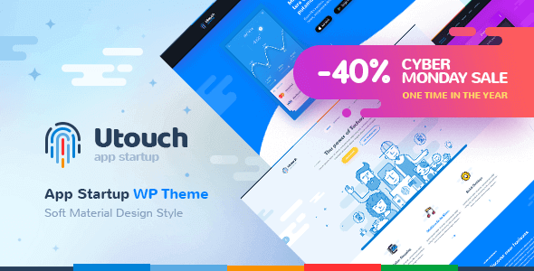 Utouch – Startup Business And Digital Technology Wordpress Theme