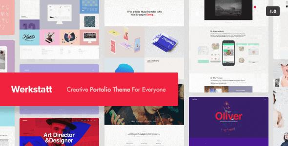Werkstatt – Creative Portfolio Theme