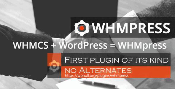 Whmpress – Whmcs Wordpress Integration Plugin