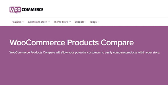 Woocommerce Product Compare