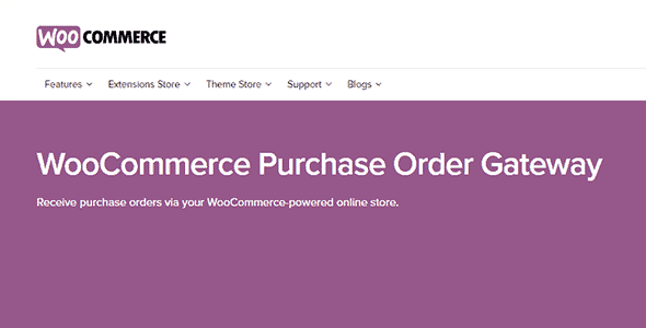 Woocommerce Purchase Order Payment Gateway