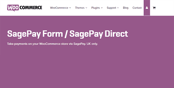 Woocommerce Sage Pay Form Gateway