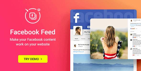 Facebook Feed Widget – Wordpress Facebook Plugin
