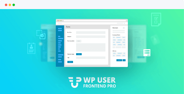 Wp User Frontend Pro