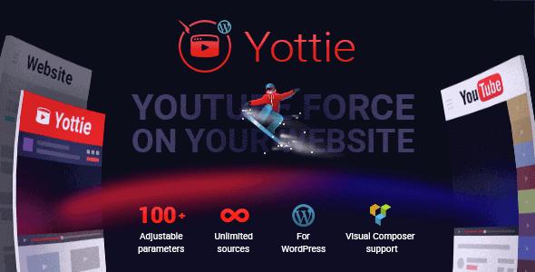 Yottie – Youtube Channel Wordpress Plugin