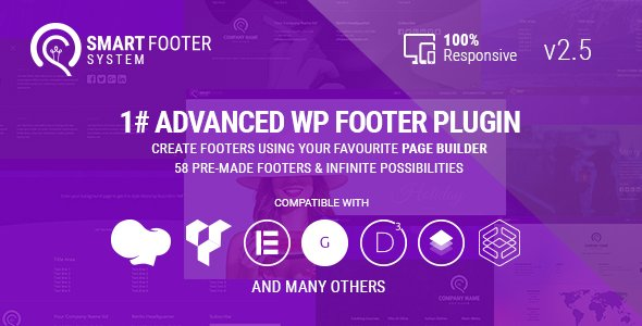 Smart Footer System - Footer Plugin for Wordpress
